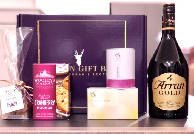 Deluxe Arran Gold Delight Gift Box