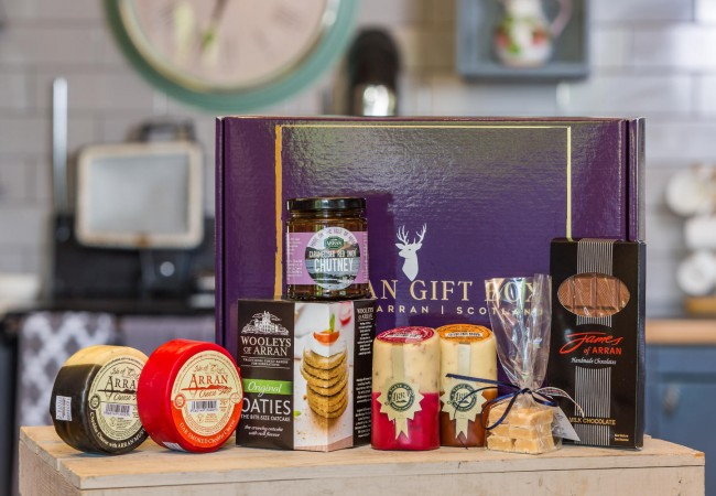 Deluxe Scottish Cheese Hamper