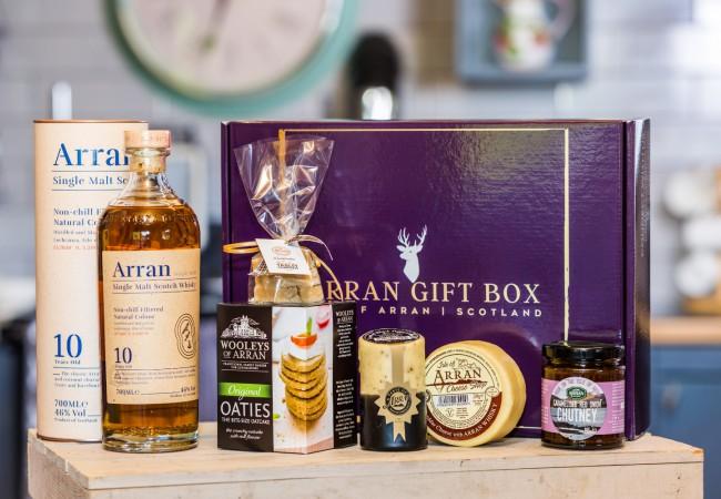 Deluxe Whisky Lover (Barrel Reserve Malt) Arran Gift Box