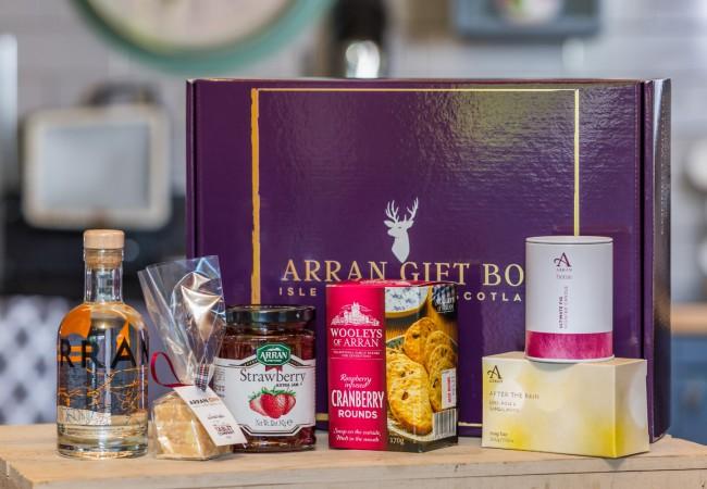 Deluxe Goatfell Arran Gin Gift Box