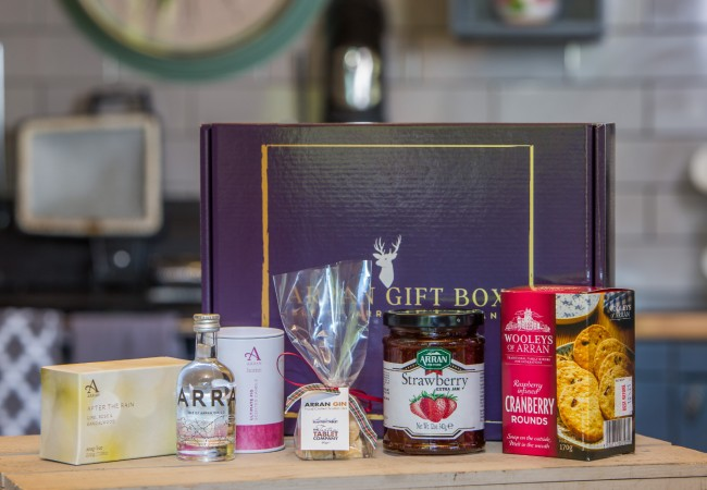 The Original Goatfell Arran Gin Gift Box for Her