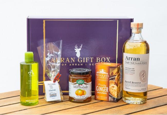Deluxe Kilbrannan (Barrel Reserve Malt) Arran Gift Box