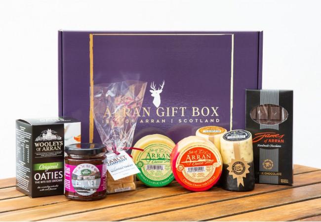 Deluxe Big Taste Arran Gift Box