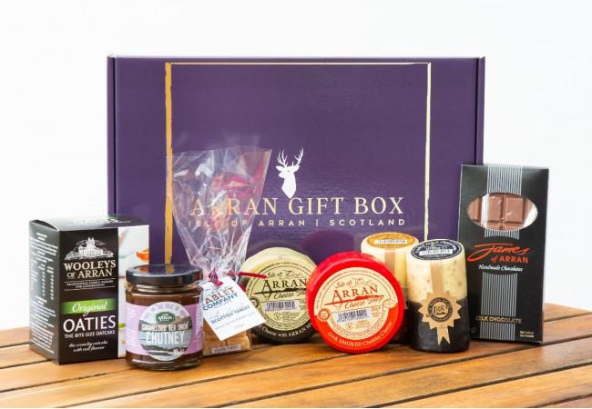 Deluxe Favourites Arran Gift Box