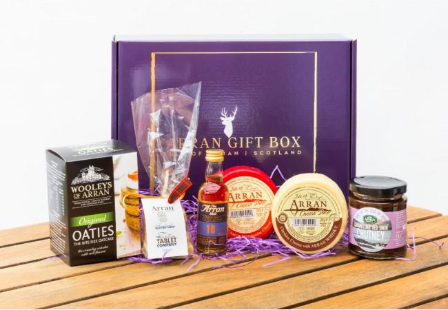 Original Whisky Lover (18 Year Old Malt) Arran Gift Box