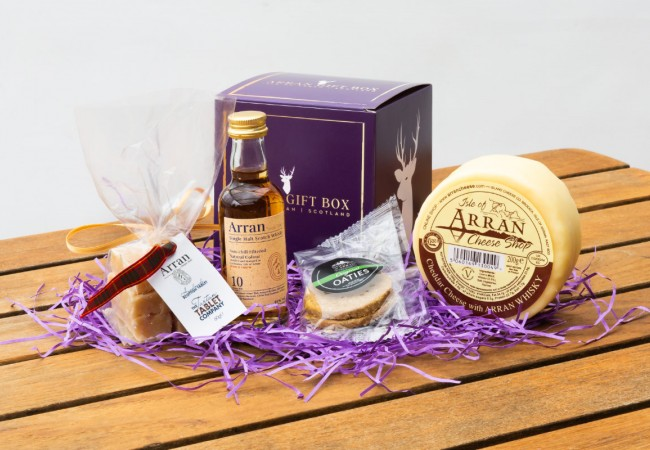 Wee Whisky Lover (10 Year old Malt) Arran Gift Box